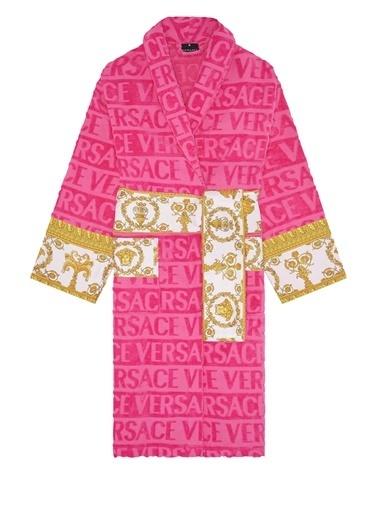 Versace Bornoz Fuşya